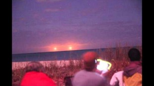 Twin Ships Witnessed – Vero Beach FL – January 27, 2015