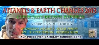 COURTNEY BROWN:   ATLANTIS & EARTH CHANGES